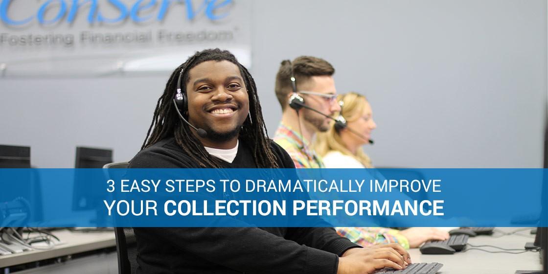 Improve debt collection program